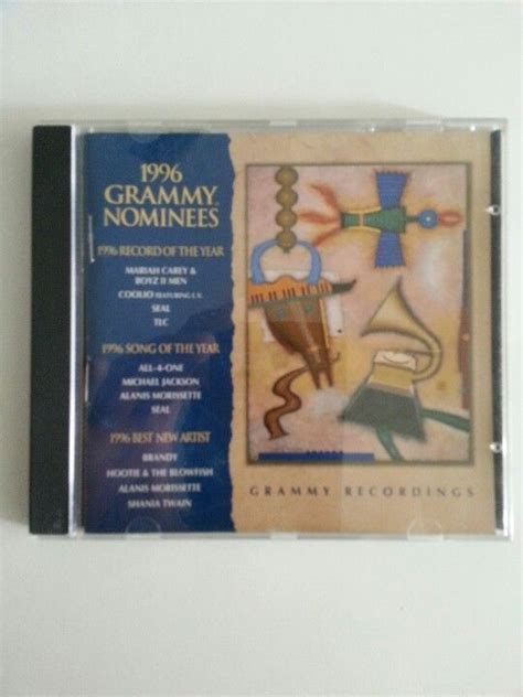 Cd 1996 Grammy Nominees Second 1996 Grammy Nominees Cd Galore Grammy Nominees