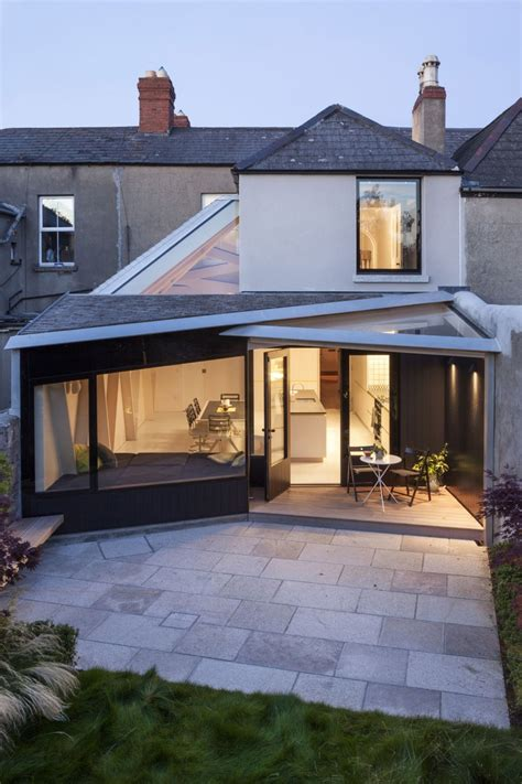 Small House Architects Uk Ingenious Addition To Small House In Dublin The