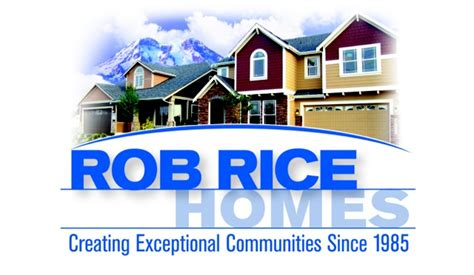 rob rice homes opens two new model homes in south puget