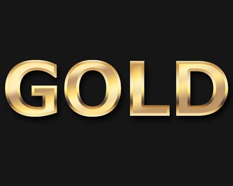 tutorial photoshop gold create a slick gold text effect using photoshop creative