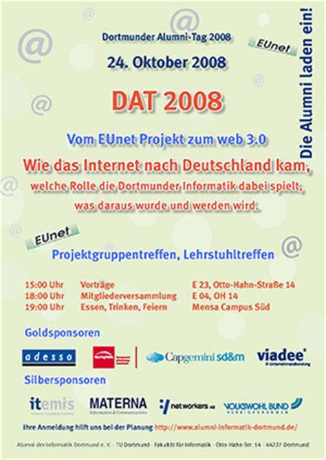 Tu Dortmund Pavillon 8 by Alumni Der Informatik Dortmund E V Das Netzwerk Der Chancen
