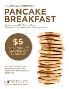 lifestyles pancake breakfast flyer images frompo
