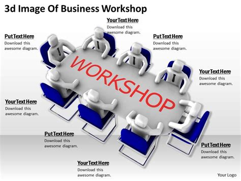 ppt templates for workshop 3d image of business workshop ppt graphics icons