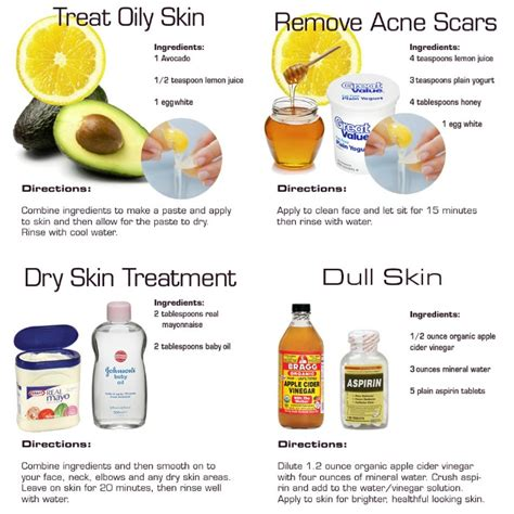 Skincare For The Treatment Of Acne by 4 Diy Skin Care Recipes For Healthier Skin Diy For