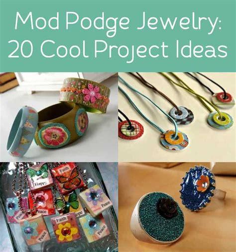 Decoupage Jewelry Ideas - mod podge jewelry 20 project ideas to diy mod podge rocks