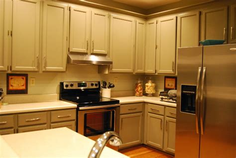 Houzz Painted Kitchen Cabinets | painted cabinets contemporary kitchen richmond by