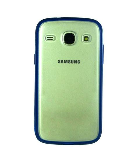 Casing Kesing Housing Samsung 1 I8262 White Blue dressmyphone tpu back cover with rubber bumper for samsung galaxy i8262 transparent