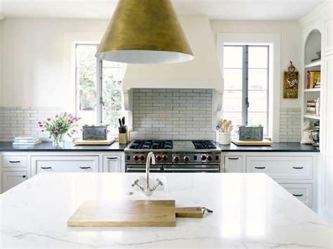 Honed Calcutta Marble Countertop   Transitional   kitchen