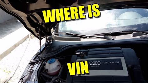 Fahrgestellnummer Audi by Where Is Vin Chassis Number Car Code Location Audi Vw Seat
