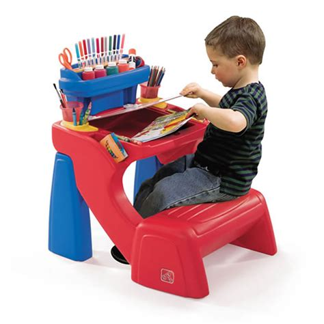 step 2 kids desk write desk kids art desk step2