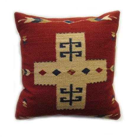 Zapotec Pillows by Cross Zapotec Pillow Handwoven In Oaxaca Mexico