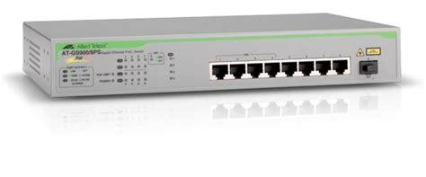 Switch Hub Allied Telesis 8 Port detail product allied telesis gs900 8ps viriya computama