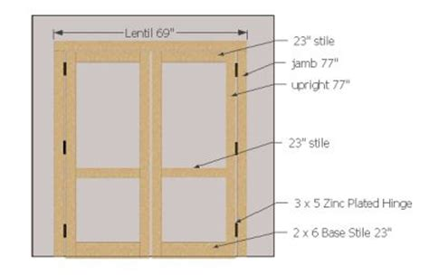 shed plans shed door plans build   set  wooden