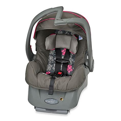 evenflo infant car seat installation evenflo 174 embrace 5 lx infant car seat alhambra bed