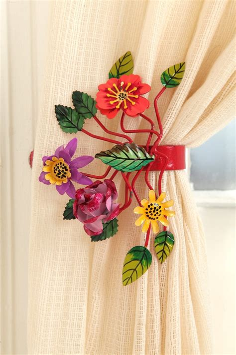 curtain tie backs urban outfitters bright botanical curtain tie back urban outfitters