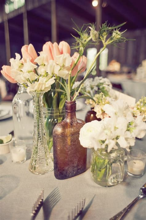 jar centerpieces apothecary jar and jar centerpiece elizabeth designs the wedding