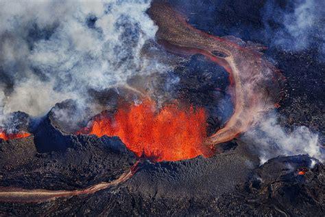 6 lava l 11 onaardse foto s de uitbarsting de bardarbunga