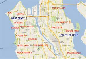 West Seattle Parks Map by West Seattle Real Estate Amp Homes For Sale