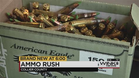 local stores see increase in ammunition purchases after