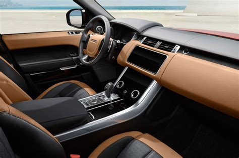 range rover sport interior 2018 range rover sport revealed with in hybrid