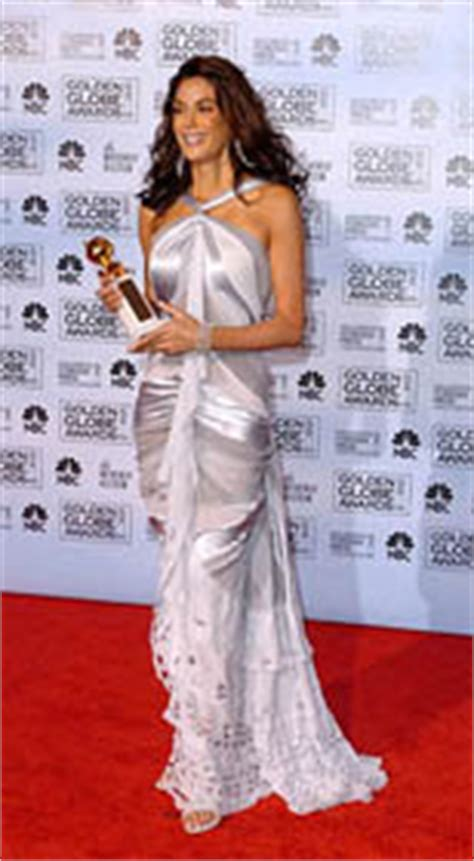 Teri Hatcher At The Golden Globes by Metrofashion 1996 2010 Golden Globes Awards Evening