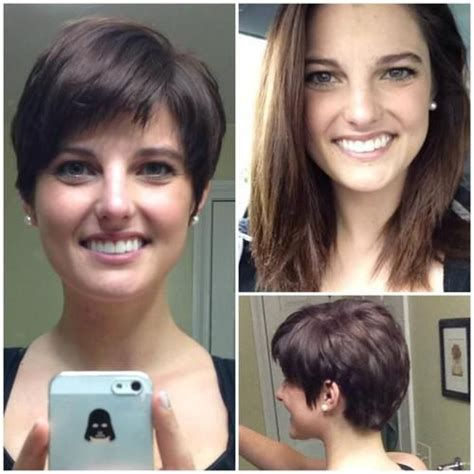 before and after pixie haircuts 1000 images about diy hair cuts pixie on pinterest for