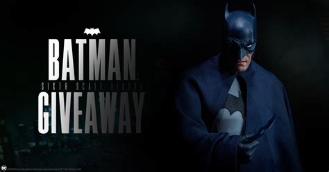 figure giveaway batman sixth scale figure giveaway sideshow collectibles