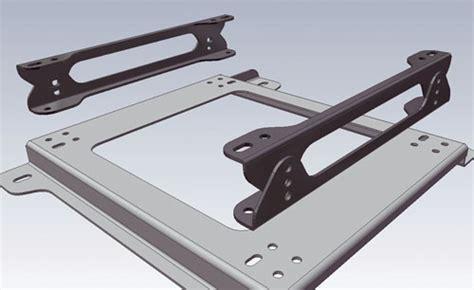 hc omp seat mount bracket spacer multi adjustable