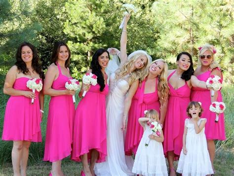pink wedding theme wedding in tahoe zephyr cove wedding wedding bridesmaids wedding