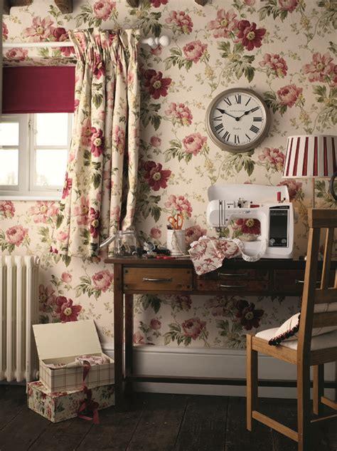 laura ashley peony curtains peony print amethyst cranberry laura ashley blog