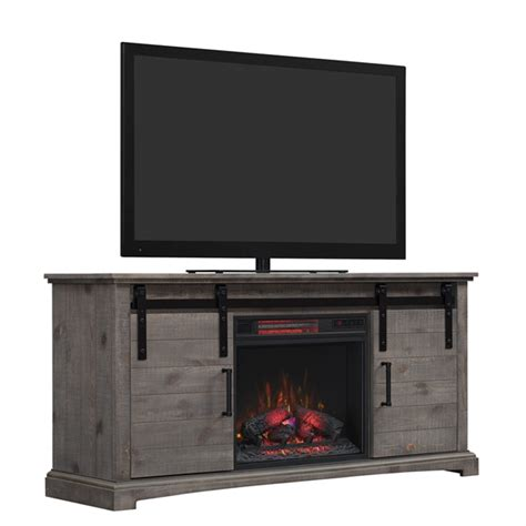 electric fireplace entertainment center lowes chimney free inches w btu electric fireplace lowe s canada