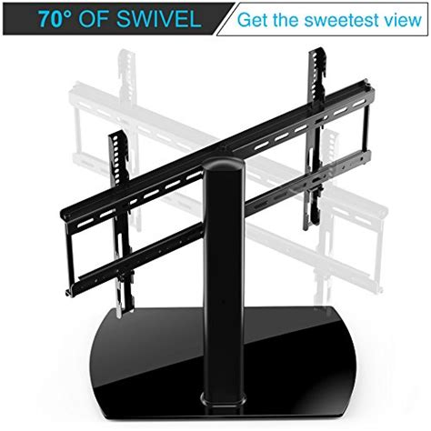 65 inch tv table fitueyes universal table top tv stand for 32 to 65 inch