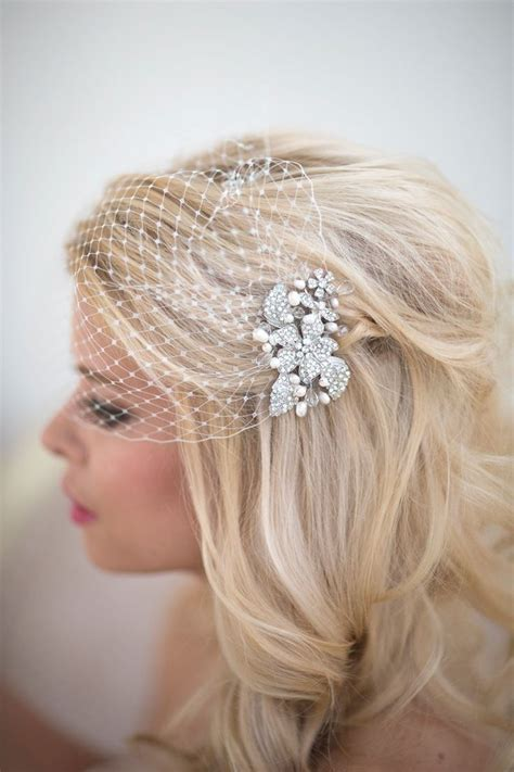 25  best ideas about Birdcage Veils on Pinterest   Wedding