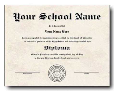 templates of certificates and diplomas 50 free high school diploma template printable