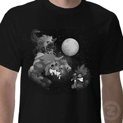 Wolf Shirt Meme - 3 boowolf moon wakfu parody three wolf moon know