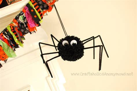 spider crafts pom pom spider spider craft
