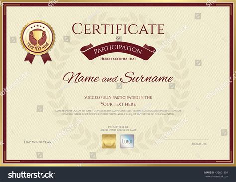 sle stock certificate template sle award certificate template 28 images formal award