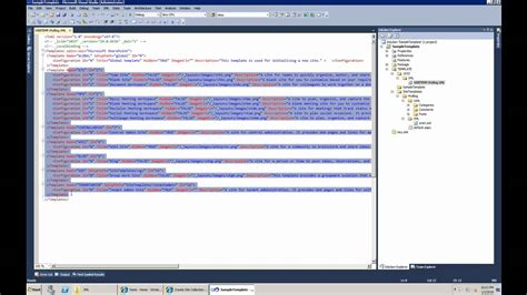 creating sharepoint 2010 site templates with modified look