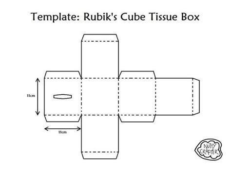 tissue box template invitation template
