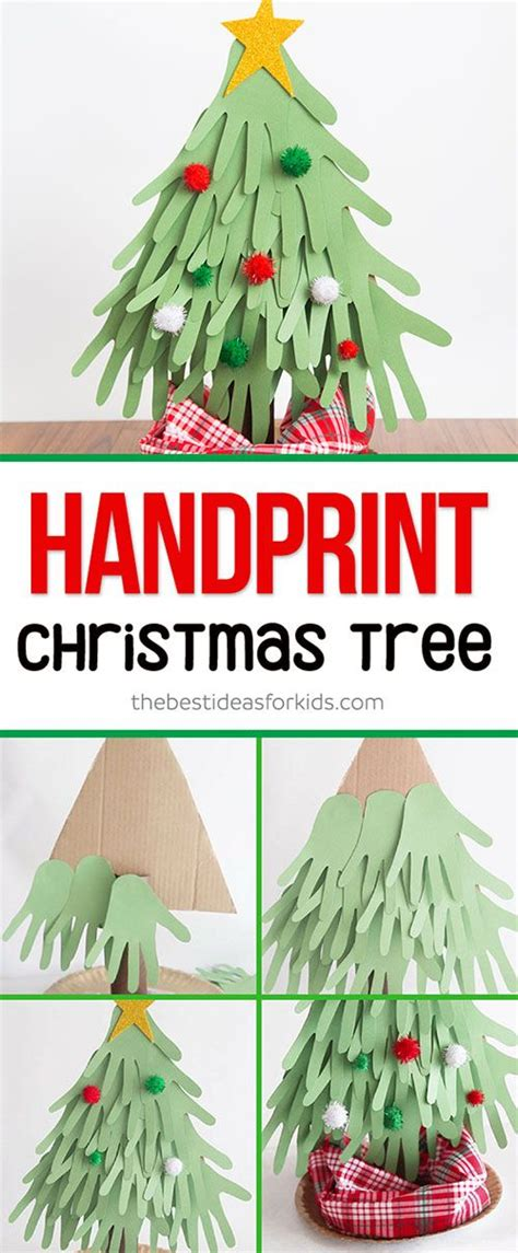 christmas tree crafts for preschool using handprint 16889 best growing creative images on activities creative and
