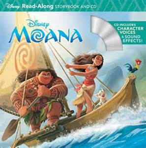 book review moana storybook cd laughingplace
