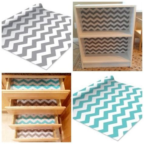 Adhesive Shelf Liner Uk by Chevron Print Contact Paper Self Adhesive Shelf Liner