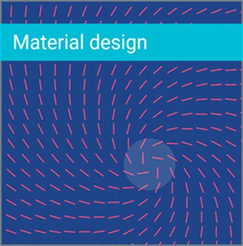google design principles material interaction interactive material design