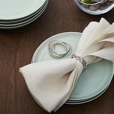 Three Ring by 3 Ring Napkin Ring Crate And Barrel