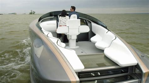 lexus boat lexus sport yacht concept with twin v8 engines youtube