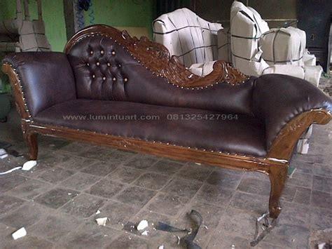 Sofa Angsa sofa kursi lois angsa ukiran kayu jati jepara mebel jati