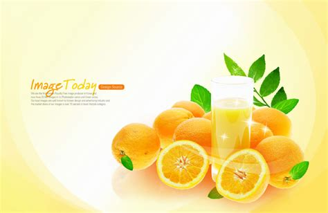 juice design background fresh orange juice psd material over millions vectors