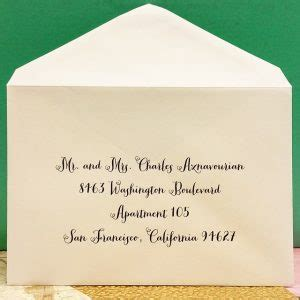 wedding envelope etiquette and guest wedding envelopes calligraphy guest addressing