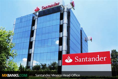 santander bank office santander mexico