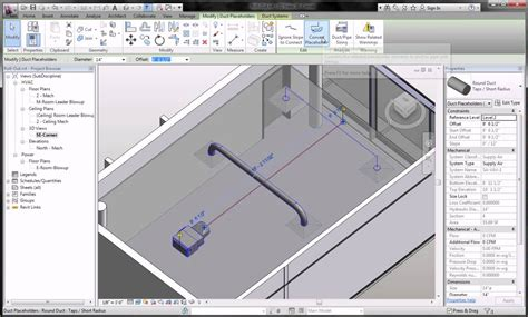 Plumbing In Revit by Revit Mep 2012 Placeholder Pipes And Ducts And Parallel